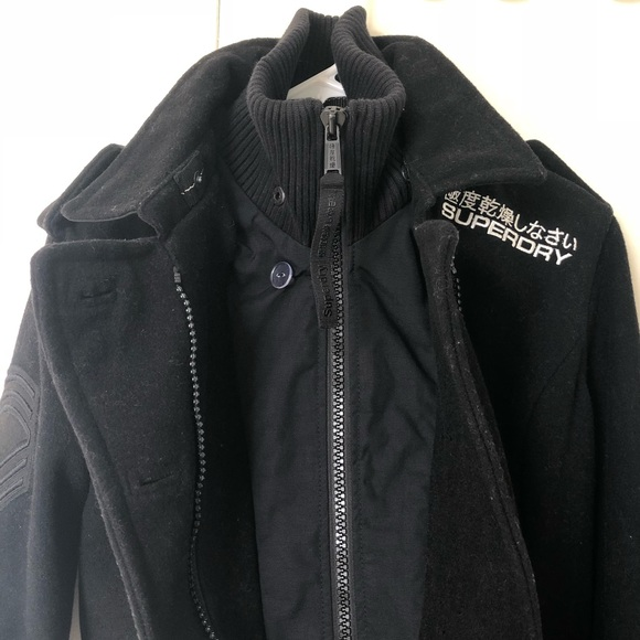 superdry windcheater cheap black and pink, Superdry Vintage